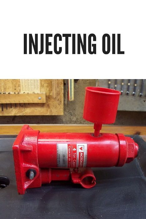 New Oil Injection