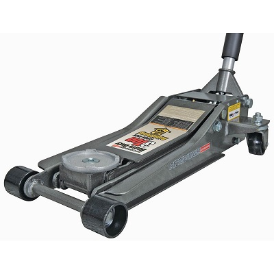 Pittsburgh Automotive 3 Ton Heavy Duty Ultra Low-Profile Steel Floor Jack