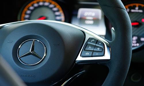 Paddle Shifters in Car