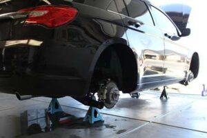 Where to Put Jack Stands Under the Car
